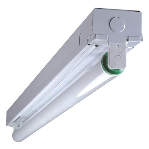 T8 Lighting Fixture Nicor 04729 2 120 Volt T8 Residential Fluorescent Light Fixture 10390eb Elightbulbs
