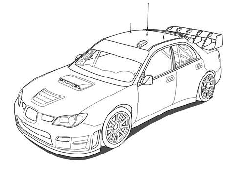coloring pages rally cars subaru impreza rally car coloring pages coloring pages