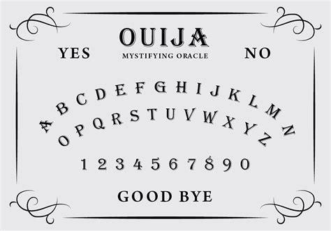 printable ouija board stencil ouija board free vector art 1764 free downloads