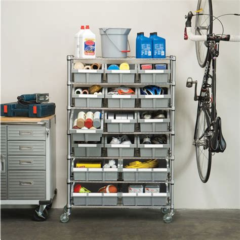 garage organization bins organize the parts in your office garage or worksop with