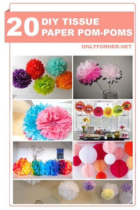 How To Make Tissue Paper Puffs - top 25 ideas about tissue paper centerpieces on