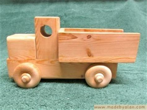simple wood toy truck   alan