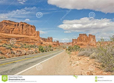 entrada sandstone entrada sandstone formations stock photo image 59749877