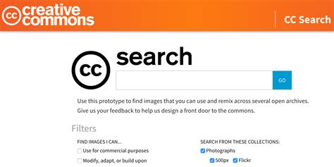 Free Search Engines Creative Commons Launches New Search Engine For Finding Free Images Search