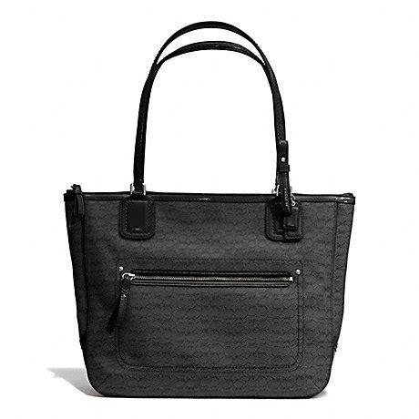 Handbag Of The Week Signature Oxford Tote by Coach F25051 Coach Handhandbag