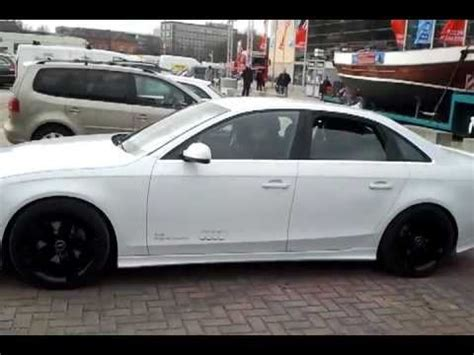 Audi Soundmodul by Audi A4 2 0 Tdi Mit Auspuff Lautsprecher Tuning Youtube