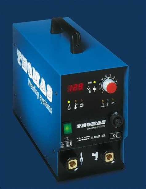 capacitor discharge stud welding machine nomark 66 d cd capacitors discharge stud welding equipment