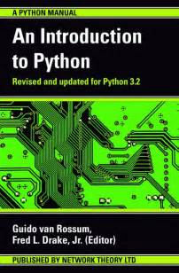 Python Canopy Tutorial by An Introduction To Python The Python Tutorial