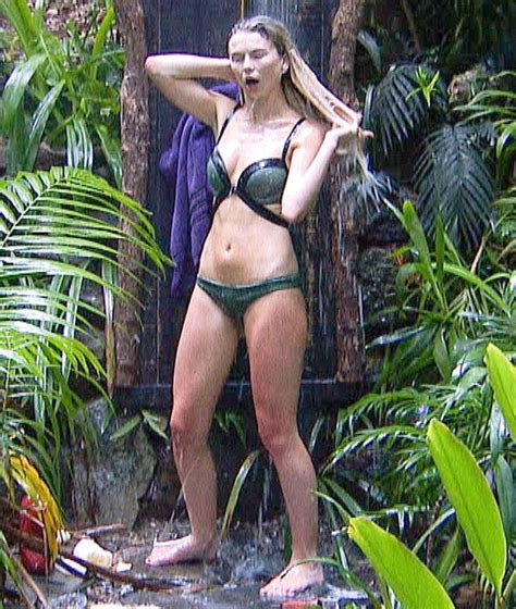 amir khan celebrity jungle i m a celebrity 2017 georgia toffolo revels in luxury