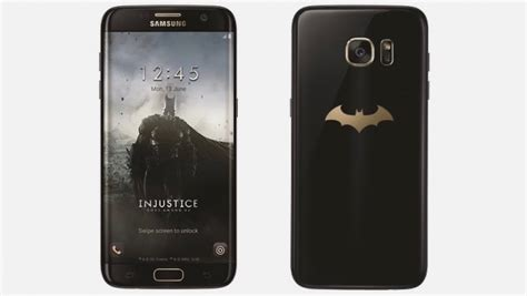 Harga Samsung Galaxy S7 Edge Special Edition samsung announced batman injustice edition galaxy s7 edge
