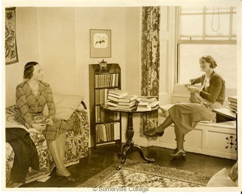 the room somerville undergraduates at leisure 1932 somerville college history