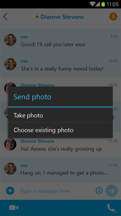 skype android app skype updates android app with picture in picture chats techtree