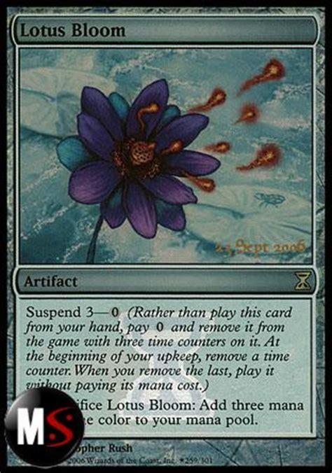 fiore di loto magic fiore di loto time spiral prerelease