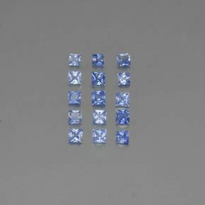 Blue Sapphire Safir 5 4ct blue sapphire 1 4ct square from sri lanka gemstones