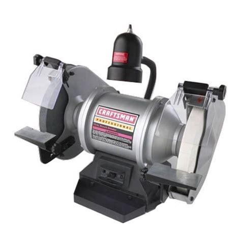 bench grinder craftsman craftsman professional 1 hp 10 quot industrial grinder 22060