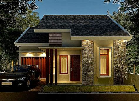 desain depan rumah minimalis dengan batu alam 12 koleksi rumah minimalis tak depan dengan batu alam