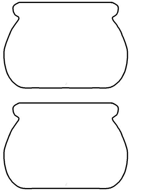 Pot Of Gold Template Free Printable