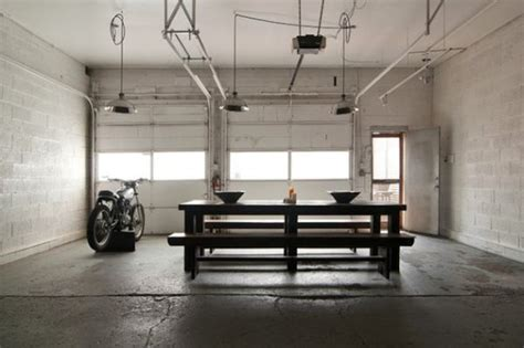 industrial garage from garage to industrial chic home