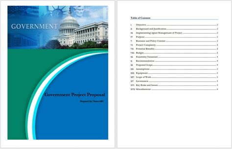Government Template Search Results For Printable Project Template