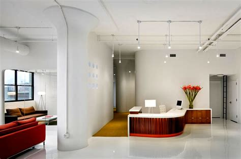 Flooring Company Business Plan reception lounge commercial office interior design um