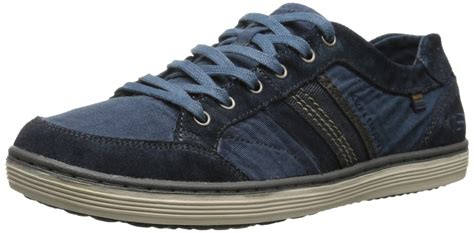Skechers Size 9 by Skechers Usa S Shoes Sorino Oveno Oxford Navy Blue