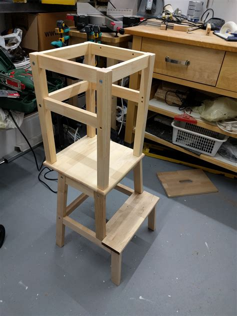 Ikea Hack Learning Tower | learning tower ikea hack gabelschereblog