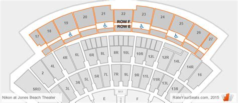 jones theatre seating chart jones theater seating chart interactive map
