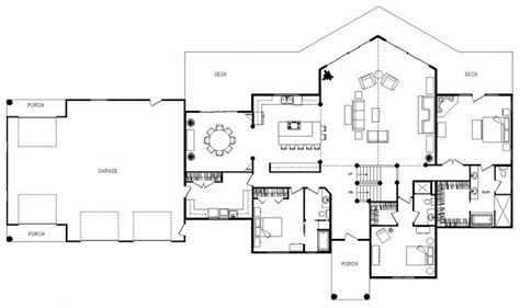 open concept cottage floor plans pinterest the world s catalog of ideas