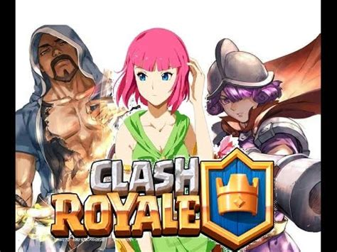 Kaos Anime Coc Clash Of Clans Clash Royal Android clash royale en version anime clash royale in anime version