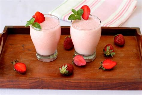 strawberry milkshake recipe how to make strawberry