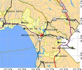 watsonville california ca 95076 profile population