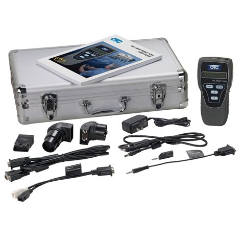 resetter tool oil light reset tool kit w procedure manual otc 3596h