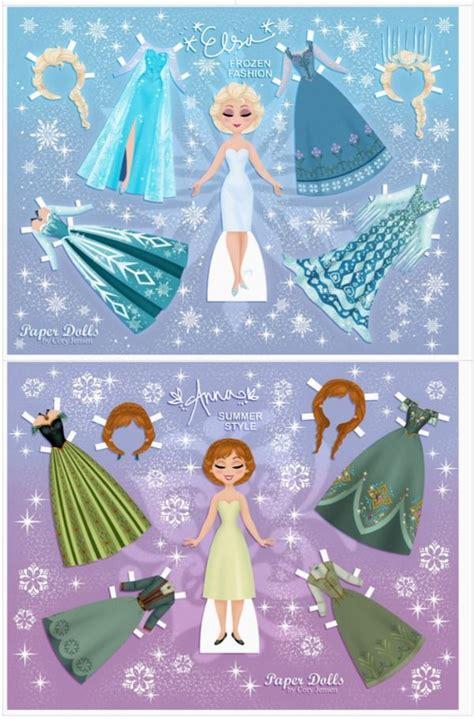 printable frozen paper dolls 25 best ideas about disney paper dolls on pinterest