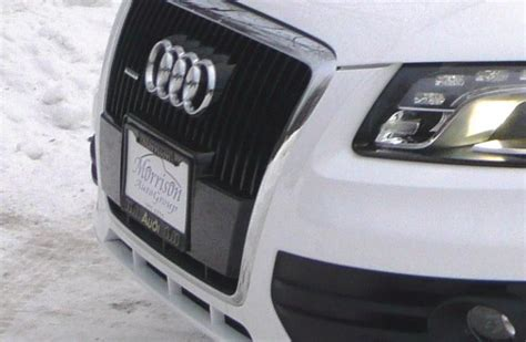 audi plate holder has anyone installed a front license plate holder on their
