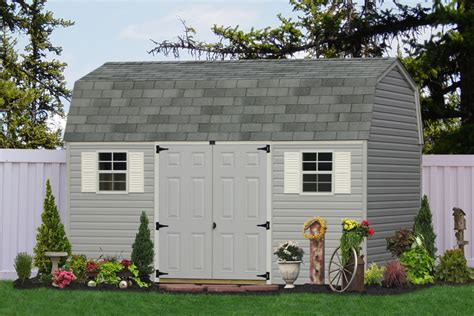 buy outdoor vinyl sheds  barns direct   amish