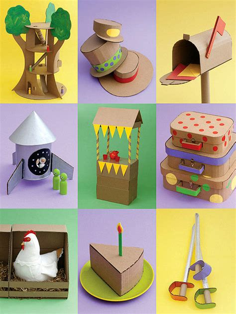 Cardboard Paper Craft - for cardboard crafts