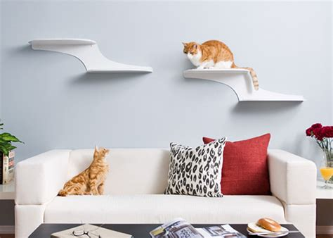Feline Cloud Shelf by Cat Clouds Climbing Shelves From The Refined Feline