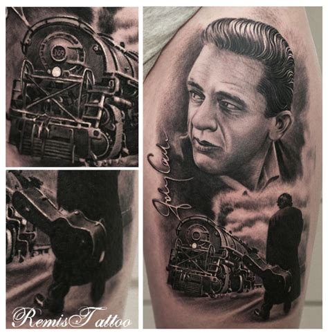johnny cash tattoos johnny tattoos