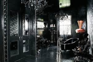 Ideas for bedrooms black gothic opulent bedroom