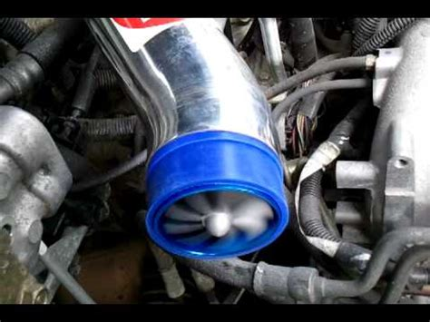 Turbo Sound Electric By Vauto turbo intake fan