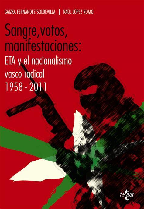 etã vasco materiales para pensar eta y el nacionalismo vasco