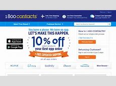 1-800 Contacts - Review Chatter 1 800 Contacts Review