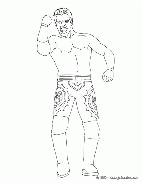 cm punk coloring pages coloring pages