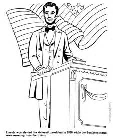 abraham lincoln coloring page abraham lincoln coloring pages printable coloring home