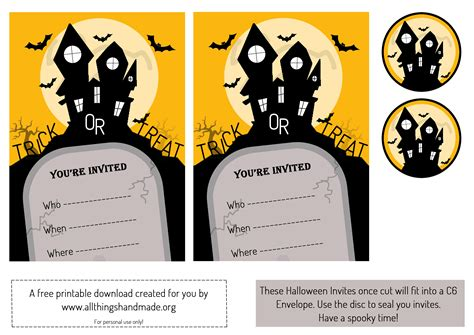 printable halloween invitations halloween invitation free festival collections
