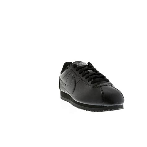 Chaussures 42 Femme by Chaussures Running Nike Cortez Stretch Cuir Femme Noir Acheter Chaussures Nike Pas Cher