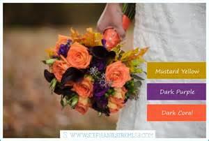 wedding color schemes for fall fall weddings part 1 color schemes lynden wa wedding