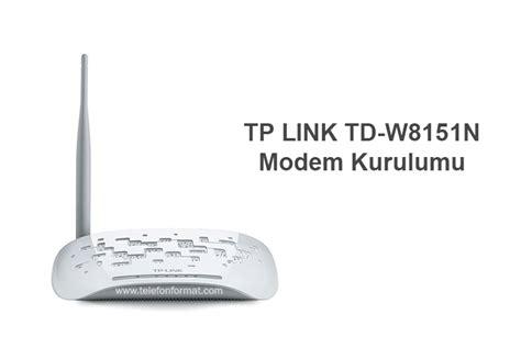 Modem Tp Link Td W8151n Antena tp link td w8151n modem kurulumu aray 252 z 蝙ifresi