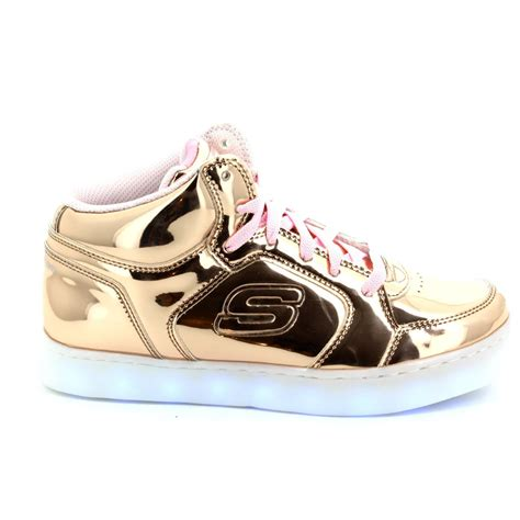 gold energy lights skechers skechers energy lights 10771 rsgd gold everyday shoes
