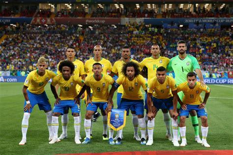 thiago silva and neymar jr photos photos brazil vs